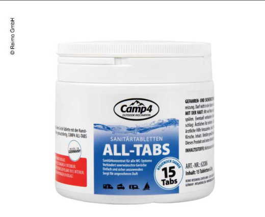 CAMP4 ALL TABS saniteettitiiviste