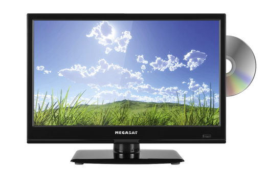 Megasat TV Royal Line II 16 tuuman musta