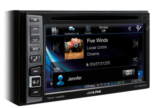 Alpine INE-W990HDMI  multimedia 2-din